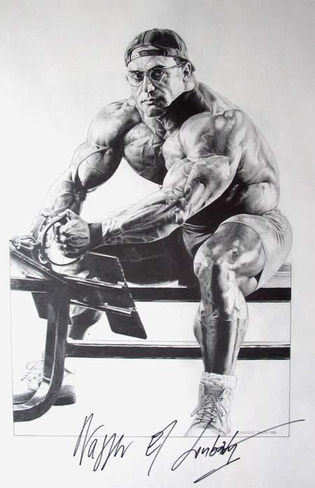 Bodybuilding Art Gallery by Charlene Ralph